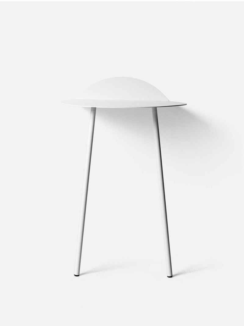 Yeh Wall Table-Side Table-Kenyon Yeh-White (Tall)-menu-minimalist-modern-danish-design-home-decor