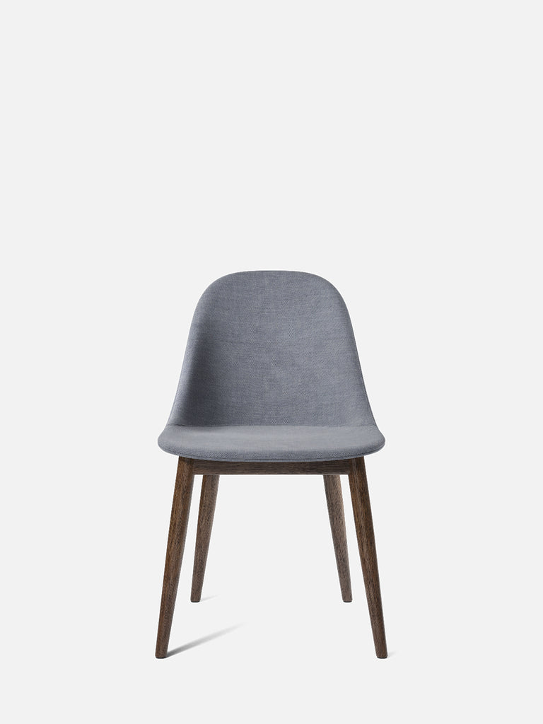 Harbour Side Chair, Upholstered-Chair-Norm Architects-Dining Height (Seat 17.7in H)/Dark Oak-751/Fiord2-menu-minimalist-modern-danish-design-home-decor