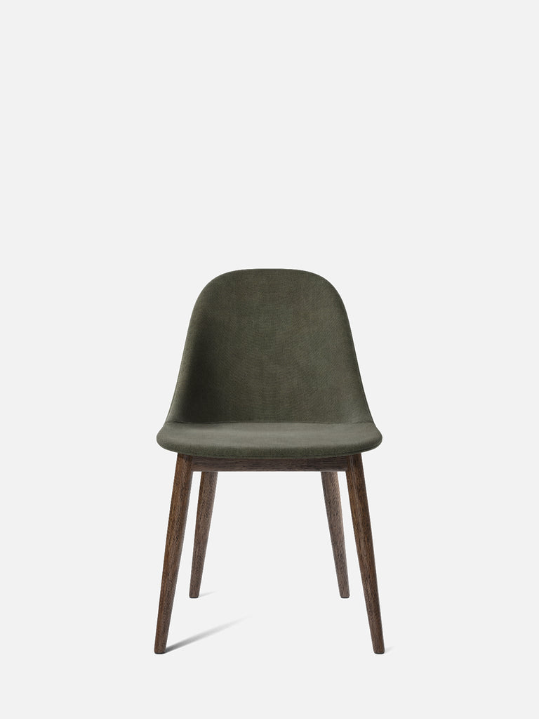 Harbour Side Chair, Upholstered-Chair-Norm Architects-Dining Height (Seat 17.7in H)/Dark Oak-961/Fiord2-menu-minimalist-modern-danish-design-home-decor