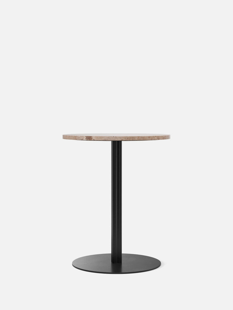 Harbour Column Table, Round-Café Table-Norm Architects-Dining Height (28.5in) - Round Base-Round 24in - Sand Stone-menu-minimalist-modern-danish-design-home-decor