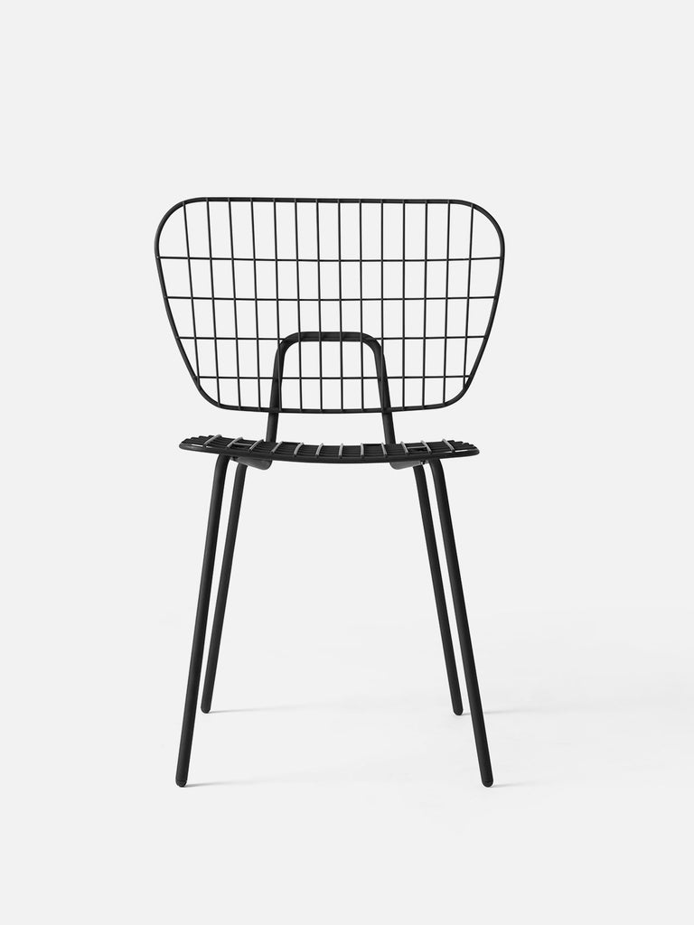 Outstanding Dining Chair By Studio Wm Outdoor Indoor Light Steel Wire Machost Co Dining Chair Design Ideas Machostcouk