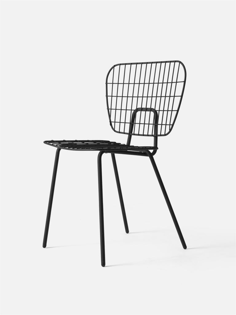 Studio WM String Dining Chair, 2-Pack-Chair-Studio WM-Black-menu-minimalist-modern-danish-design-home-decor
