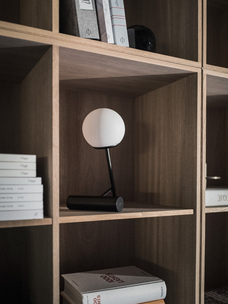 Phare Portable LED Lamp, Black-Portable Lamp-Stanislaw Czarnocki-menu-minimalist-modern-danish-design-home-decor