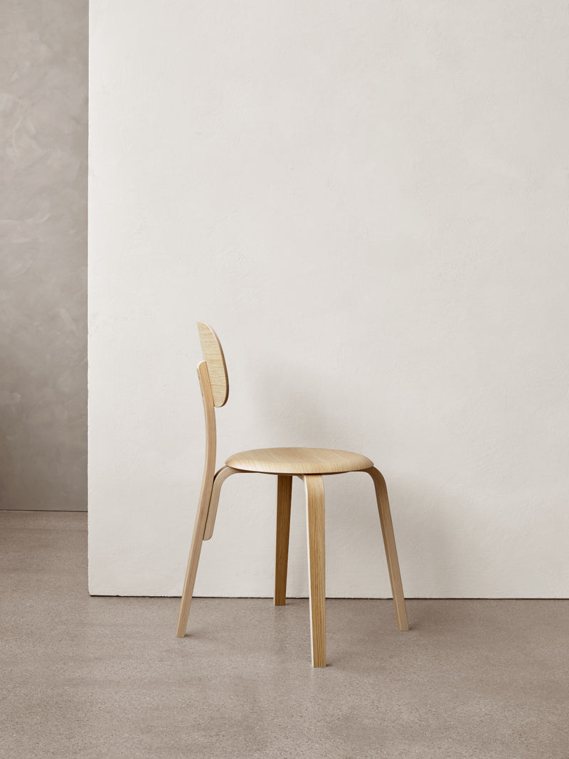 Afteroom Plus, Wooden Base Dining Chair-Chair-Afteroom Studio-menu-minimalist-modern-danish-design-home-decor