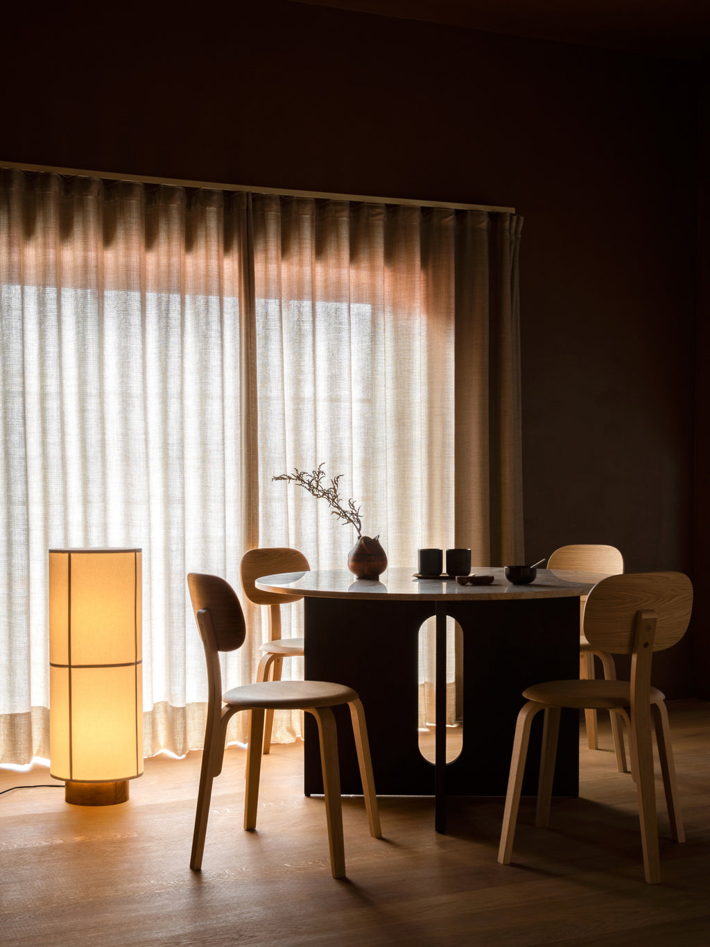 Hashira Floor Lamp By Norm Architects Ambient Lighting Menu Furniture Decor