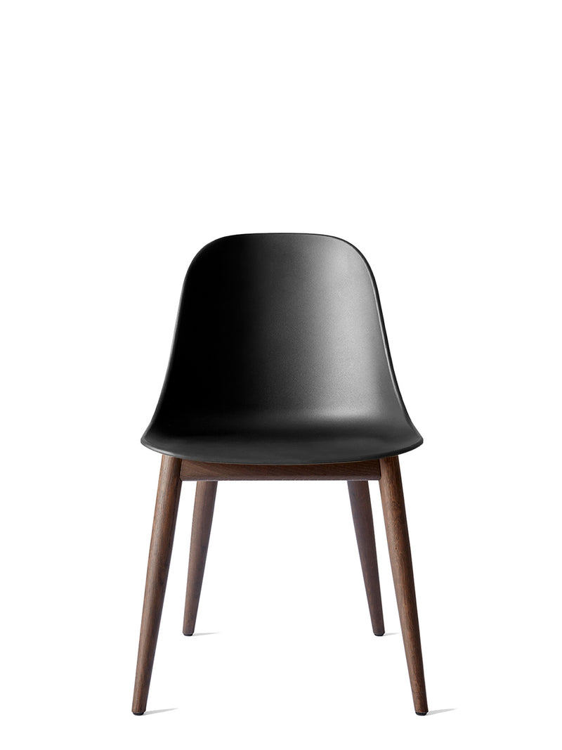Harbour Side Chair, Hard Shell-Chair-Norm Architects-Black-Dining Height (Seat 17.7in H) - Dark Oak-menu-minimalist-modern-danish-design-home-decor