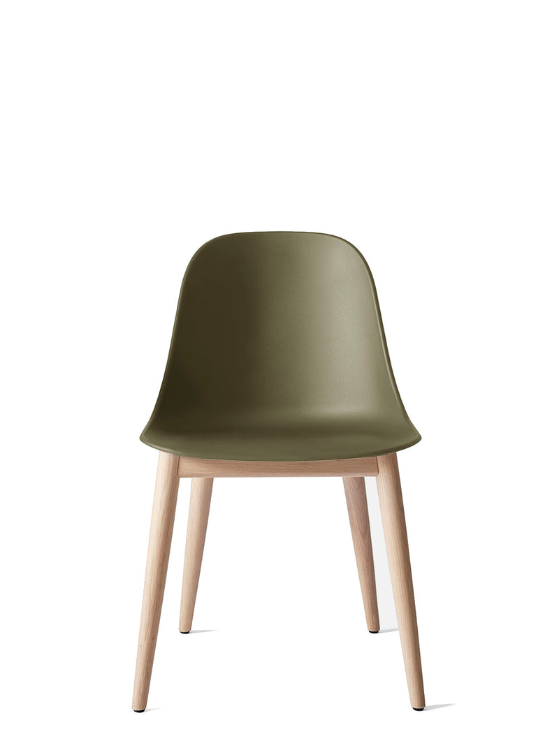 Harbour Side Chair, Hard Shell-Chair-Norm Architects-Olive-Dining Height (Seat 17.7in H) - Natural Oak-menu-minimalist-modern-danish-design-home-decor