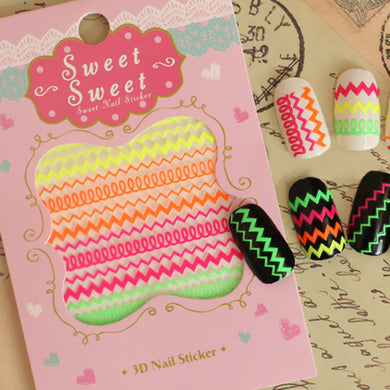 Sweet Luminous Stickers (12pcs Pack)