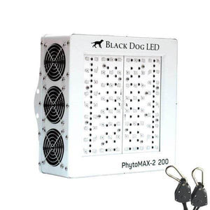 LED Grow Light - Black Dog LED Phytomax-2 200 LED Grow Light