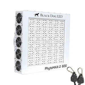 LED Grow Light - Black Dog LED Phytomax-2 600 LED Grow Light