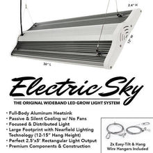 LED Grow Light - The Green Sunshine Company Electric Sky 180 LED Grow Light
