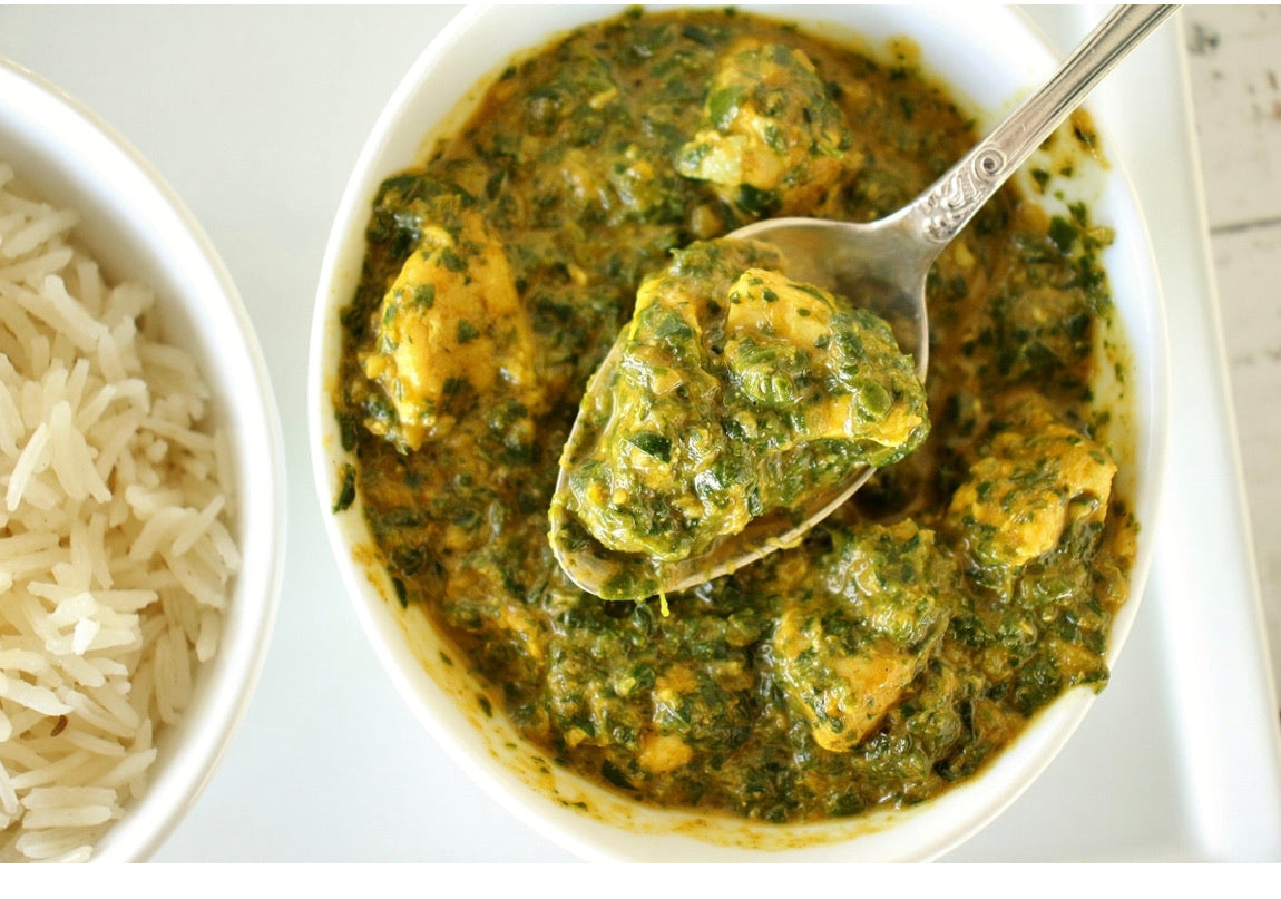 CHICKEN TIKKA SAAG