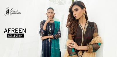 Afreen Collection is Now Live on Shireen Lakdawala