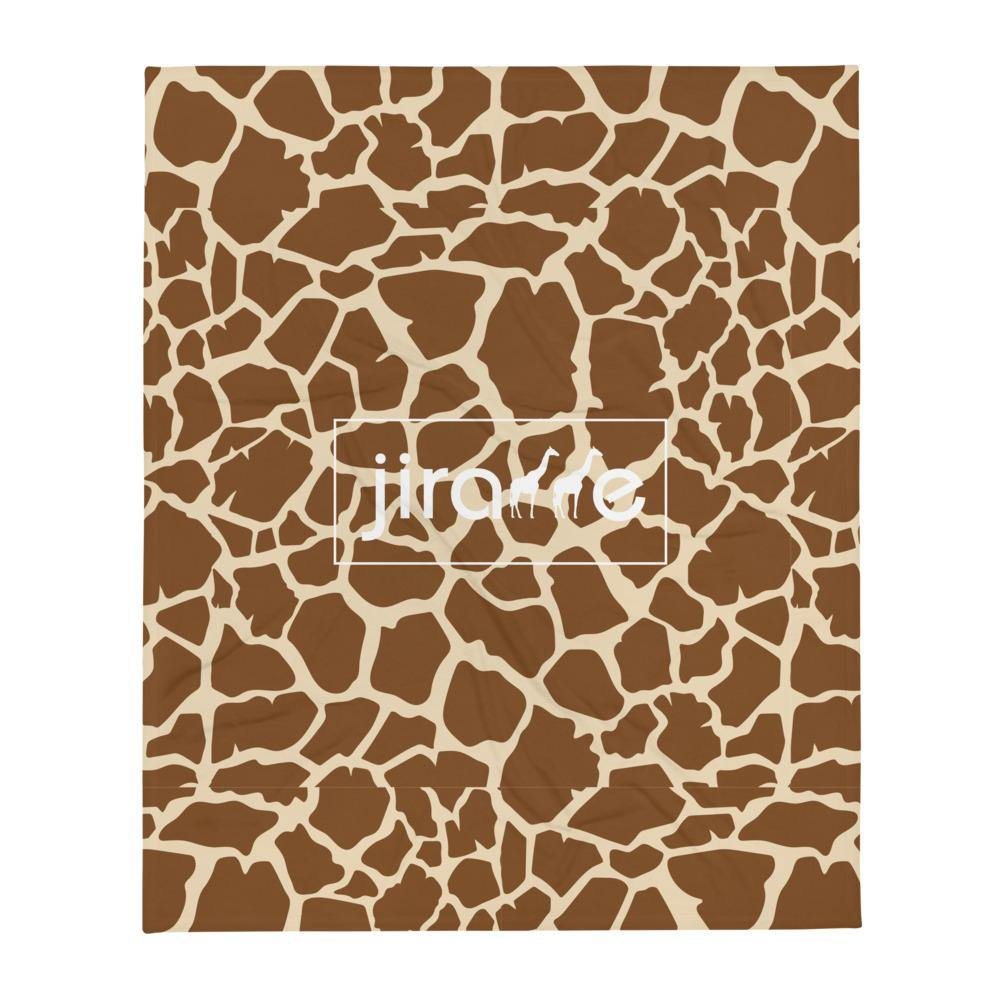 Giraffe Print Throw Blanket