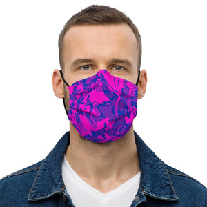 Purple Gas Premium Face Mask - jiraffe Threads