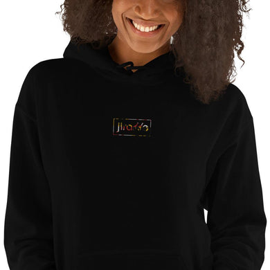 Women's Embroidered Maryland Flag Style Hoodie