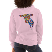 Load image into Gallery viewer, Women's Mosaic Giraffe Hoodie