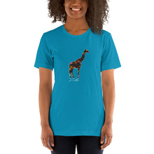 Load image into Gallery viewer, Women's Space Giraffe Tee