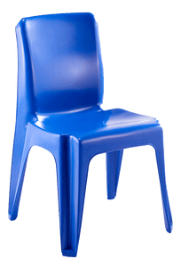 Maxi Chair Virgin Plastic Blue - SPECIAL (R107.00 For 100 & Over)
