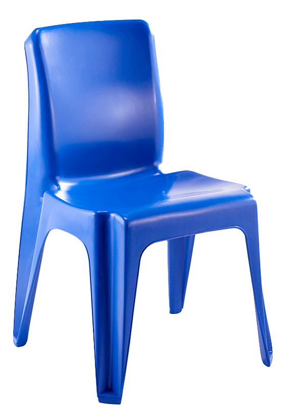 Maxi Chair Virgin Plastic Blue - SPECIAL (R105.00 For 100 & Over)