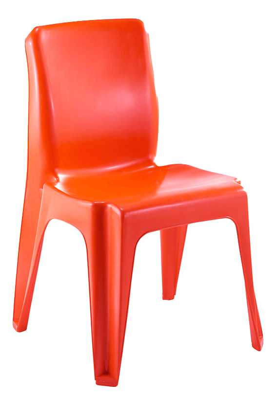 Maxi Chair Virgin Plastic Orange - SPECIAL (R105.00 For 100 & Over)