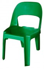Alpine Chair Virgin Plastic - 450 Height