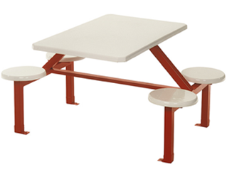 4 Seater Stool Set