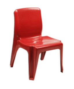 Maxi Chair Virgin Plastic Red - SPECIAL (R105.00 For 100 & Over)