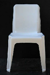 Maxi Chair Virgin Plastic White - SPECIAL (R105.00 For 100 & Over)