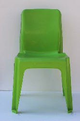 Maxi Chair Virgin Plastic Lime Green - SPECIAL (R105.00 For 100 & Over)