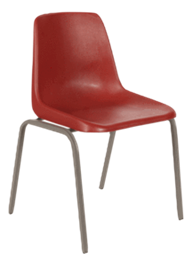 Polyshell Chair Virgin Plastic - 400H