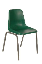 Polyshell Chair Virgin Plastic Green - SPECIAL (R105.00 For 100 & Over)