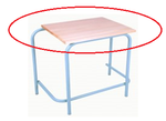 Saligna Single Desk / Tops ONLY