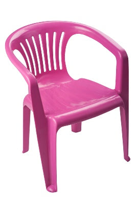 Kids Chair Virgin Plastic With Arms