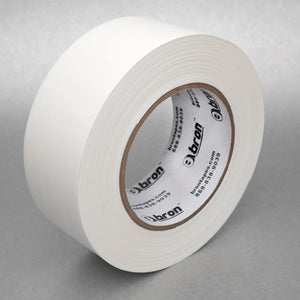 "Bron 3"" 72MM x 55 Meters Poly Sound Mat Seam Tape White"