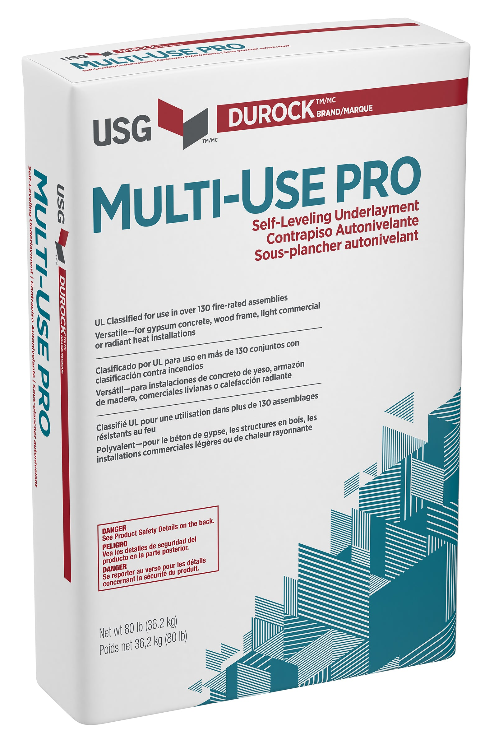 USG Multi-Use Pro Series Self-Leveling Underlayment in 2500# Super Sack
