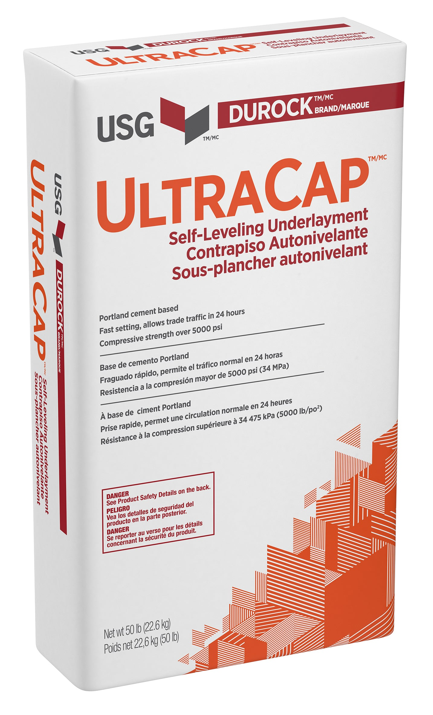 USG UltraCap Self-Leveling Underlayment 50 lb bag