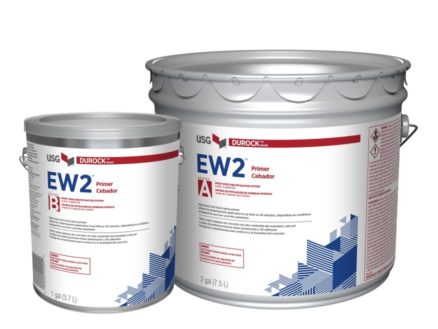 DUROCK™ BRAND EW2™ Wet to Wet Epoxy PRIMER