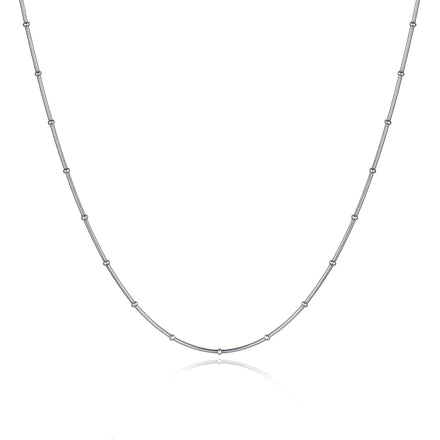 Silver Bauble Necklace