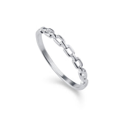 Chain Silver Ring