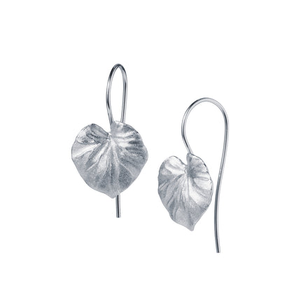 Sterling Silver Tropical Leaf  Earring