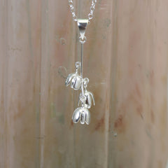 Bluebell Silver Pendant