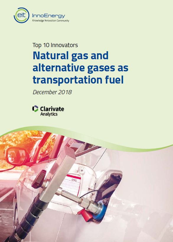 The top 10 innovators in: Natural gas and alternative gases as transportation fuel