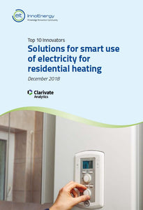 The top 10 innovators in: Solutions for smart use of electricity for residential heating