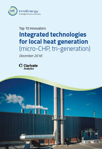 The top 10 innovators in: Integrated technologies for local heat generation (micro-CHP, tri-generation)