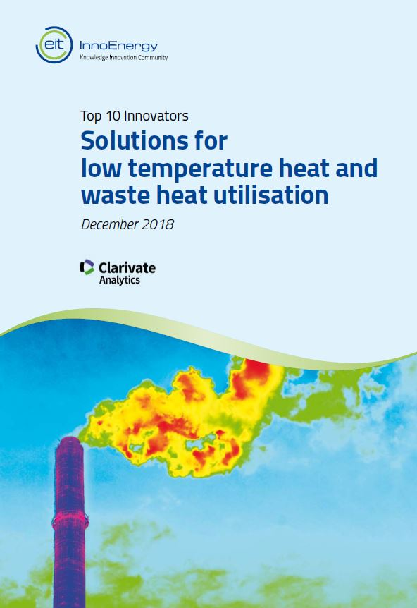 The top 10 innovators in: Solutions for low temperature heat and waste heat utilisation