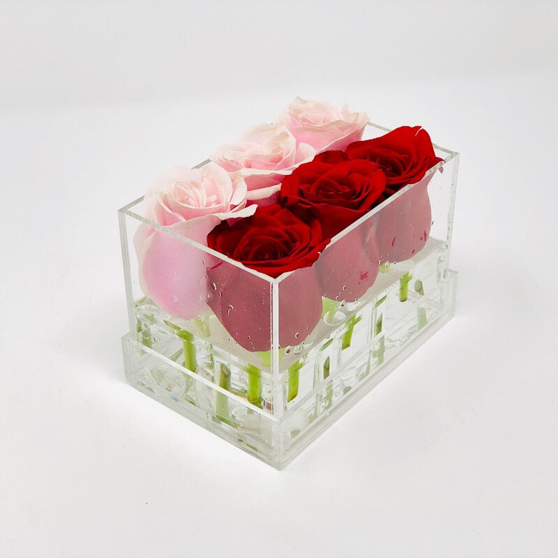 Lisi Box Forever Rose - Stripe - Ohana Moments