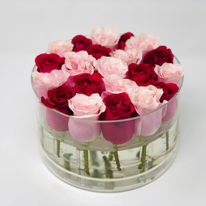 BUILD YOUR OWN: Faye Forever Rose Box - Checkered