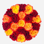 BUILD YOUR OWN FRESH ROSE BOX: Faye Box - Checkered
