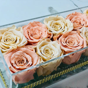 Meli Box Forever Rose - Checkered